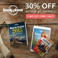 30% Rabatt auf Reiseführer bei Lonely Planet