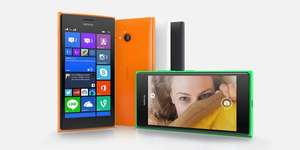 Nokia Lumia 730 in orange und grün bei notebooksbilliger.de
