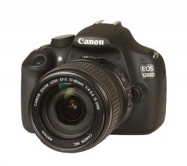 [Blitzdeal] Canon EOS 1200D SLR-Digitalkamera Kit incl. 17-85 mm EF-S Objektiv | -10% zu Idealo
