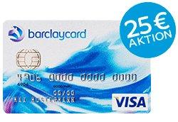 Barclaycard New Visa 25€ Startguthaben bis 28.02.15 + 20€ Qipu Cashback