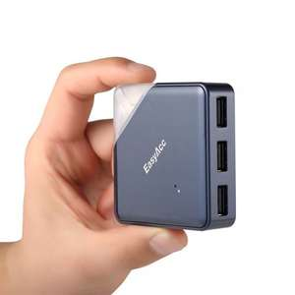 EasyAcc® Super Speed USB 2.0 OTG 3 Port USB Hub mit Kartenleser für 15,99€ inkl. Versandkosten