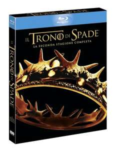 [BluRay] Game of Thrones - Staffel 2 (Italienische Version mit deutschem Ton) für 15,27 € @Amazon.es
