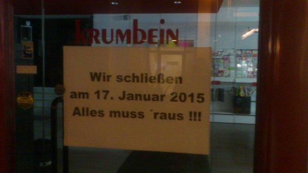 [Mönchengladbach] Krumbein Büro/Designer Ware Räumungsverkauf - bis zu 50% -