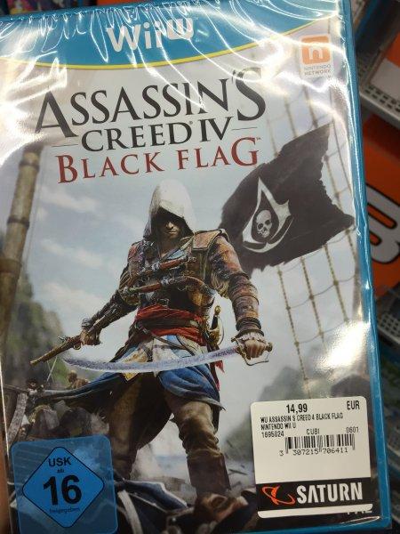 Assasin's Creed Black Flag Wii U