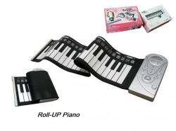 49 Tasten Rollpiano Roll Up Keyboard PIANO Klavier