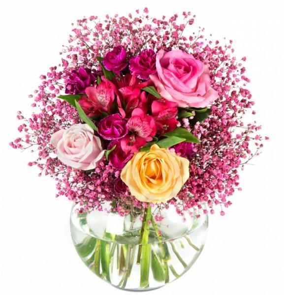 Was für Männer: Blumenstrauss Lilly für 14,90€ bei Miflora und bis zu 70% bei Menlook