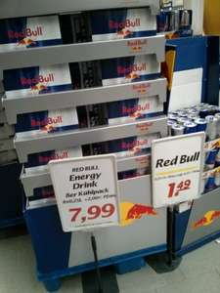 [Edeka] 8x250ml Red Bull für 7,99€ (lokal?)