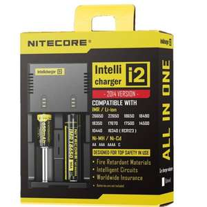 [China] Original NITECORE Intellicharger i2 2014 Ladegerät Li-Ion, NiMH AA/AAA
