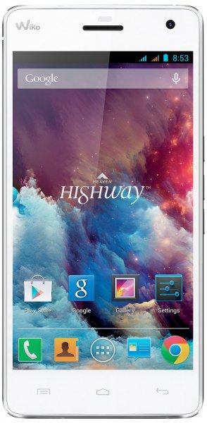 Wiko HIGHWAY 2GHz OCTA-CORE Smartphone (5 Zoll) Full HD IPS, DUAL SIM, 16GB, 2GB RAM, 16 Megapixel Kamera, Android 4.4) weiß @Amazon FR WHD