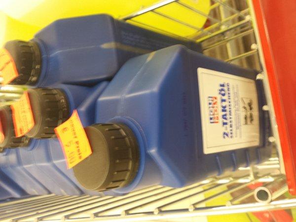 Liqui  Moly 2 Takt Öl 5 Euro / Liter bei Penny
