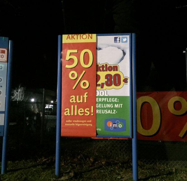 Lokal(Olching bei Fürstenfeldbruck) -50% Aktion bei Waschstraße