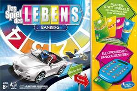 [Amazon Prime & windeln.de] Hasbro Spiel des Lebens Banking - 24% unter Idealo