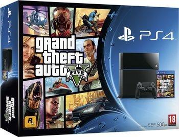 Sony PlayStation 4 500GB inkl. GTA 5