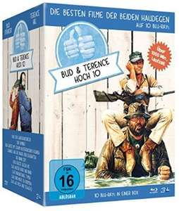 Bud Spencer & Terence Hill - Jubiläums-Collection-Box [Blu-ray] für 55,46 € > [amazon.de]