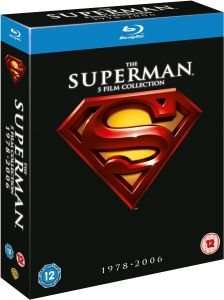 The Superman Collection 1-5 (1978-2006) Blu-ray für 11€ @Zavvi.com