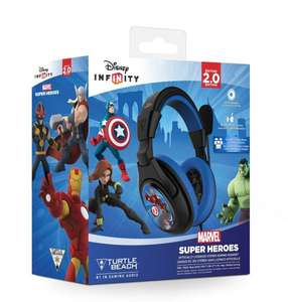 [Amazon.co.uk] Turtle Beach Ear Force Disney Infinity Marvel Super Heroes für Xbox360, PS4, WiiU, PC