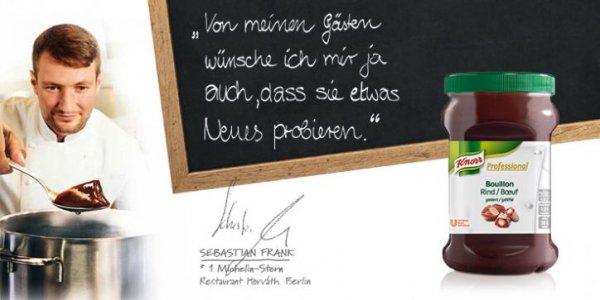 Gratis Knorr Professional Bouillon Rind [Nur für Gastronomiebetriebe]
