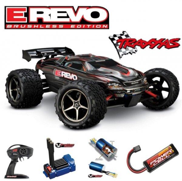 Traxxas E- Revo VXl Brushless