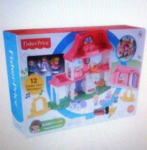 [Real Onlineshop] FisherPrice, Little People Happy Sounds Haus (Vgl:35,86€)