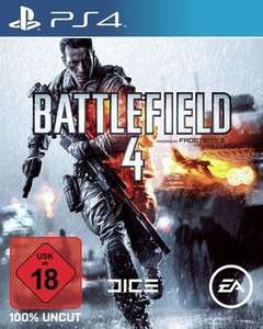 Battlefield 4 [PS4/XONE] für 24,99€ (mit Newsletter Gutschein 19,99€) @Saturn Late Night