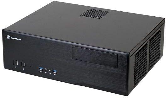 SilverStone Grandia GD05B (kompaktes mATX-PC-Gehäuse) - 47,65€ @ Mindfactory