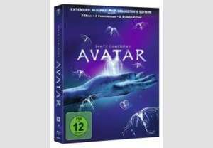 Avatar – Extended Collector´s Edition: 3 Blu-rays mit Fanbuch
