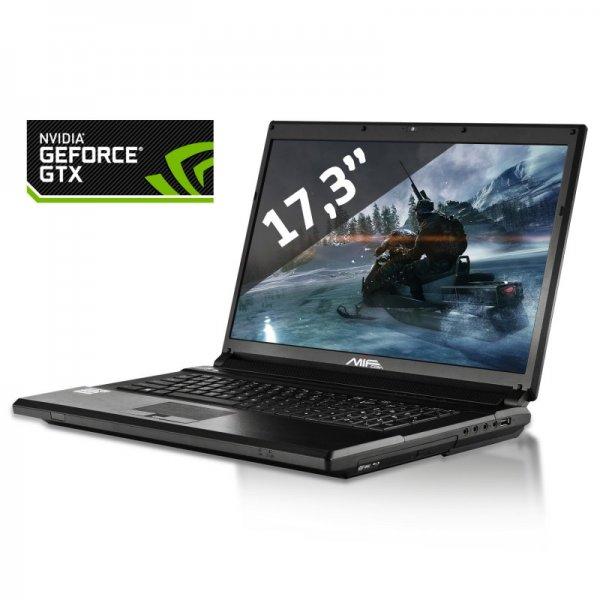 "Standard 17"" Clevo Gaminglaptop 4710mq, 8GB RAM, 780m GTX *neu* P170SM"