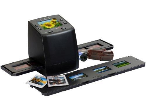 Technaxx DigiScan DS-02 Scanner für Negativfilme und Diafilme (SD-Kartenslot, 6,1 cm (2,4 Zoll) TFT-Display für 46,82€