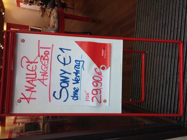 Sony E1, Vodafone Shop Halle, Leipziger Straße