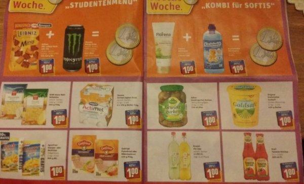 REWE 1€ WOCHE ab 19.01.15