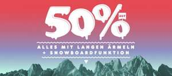 Railslide Frankfurt - 30% auf alles und für Kundenkartenbesitzer 50% auf alles mit langen Ärmeln und Snowboardfunktion