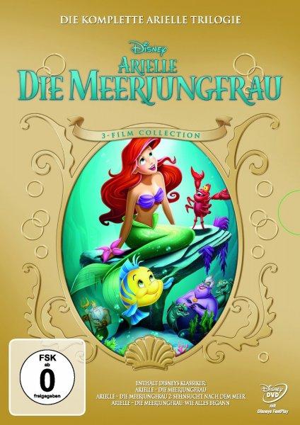 Arielle die Meerjungfrau – Trilogie 3 DVDs für 14,97€ bei amazon.de