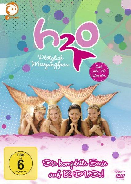 H2O – Plötzlich Meerjungfrau: Die komplette Serie 12 DVDs für 16,97€ bei amazon.de
