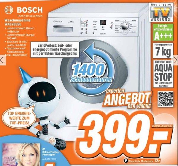 Expert: BOSCH Waschmaschine WAE 283 SL