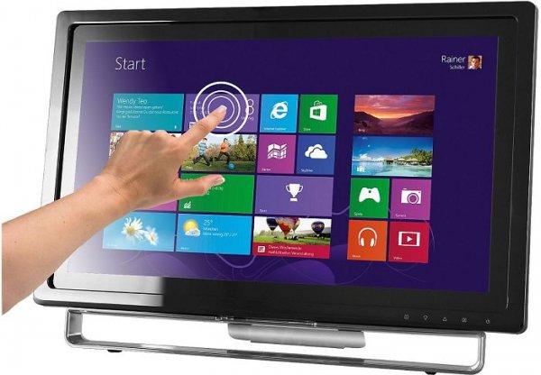 Medion P54031 - 21,5 Zoll Full-HD-Touchscreen-Monitor - VGA, DVI, HDMI, Lautsprecher - 149€ [Medion - 4% QIPU]