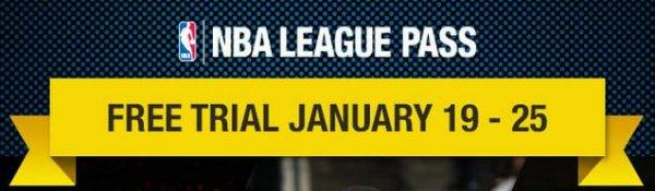 [NBA] League Pass 1 Woche gratis (19.01.- 25.01)