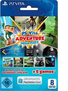 PS VITA Mega Adventure Pack mit otto.de Neukundengutschein