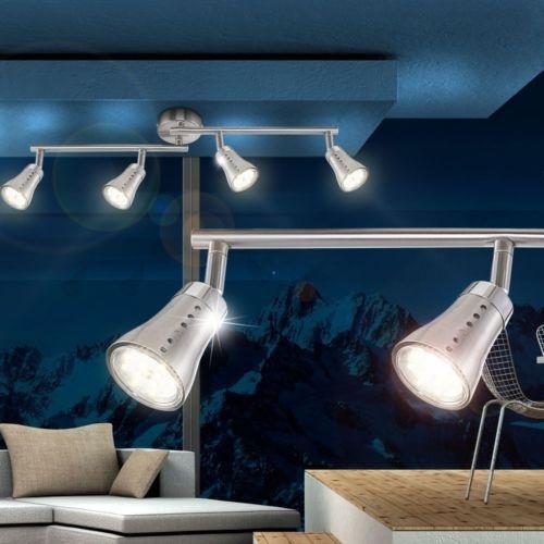 12 Watt LED Wohnzimmer Esszimmer Decken Lampe Leuchte 4er Spot Leiste Strahler 19,99€ statt 59,99€ @eBay WOW