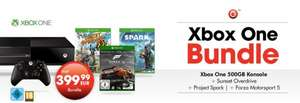 [UPDATE] [GameStop/Amazon.de] Xbox One + Sunset Overdrive + Project Spark + Forza 5 GOTY Edition für 399€