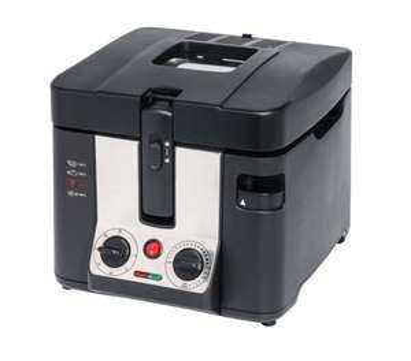 MEDION MD 15630 Fritteuse 2,2Liter 2800 Watt 130-190° Aluminium-Ölfilter schwarz @ebay