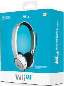 Turtle Beach Ear Force NLa Headset in weiss für WiiU/3DS/2DS (zavvi.de)