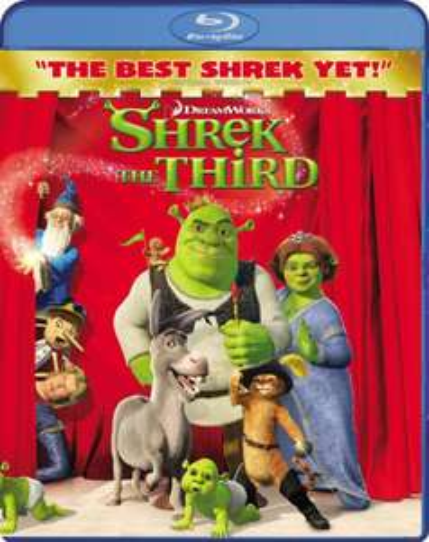 Blu-ray - Shrek The Third ab €3,91 [@Zavvi.de]