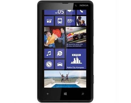 Nokia Lumia 820 schwarz, Smartphone Handy, Demoware - 149,00 EUR @ meinpaket