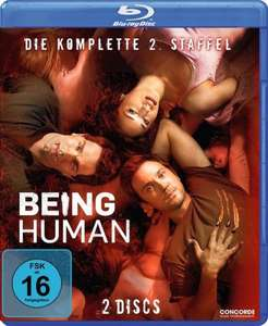 (MediaMarkt.de) / (Amazon-Prime) (BluRay) Being Human Staffel 2