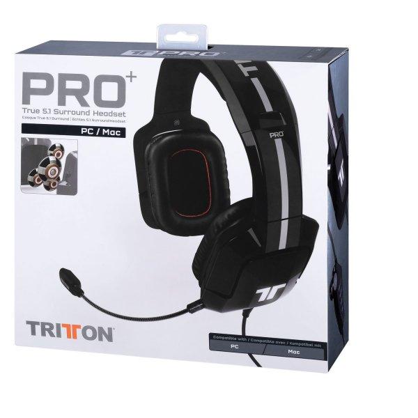 Tritton Pro+ True 5.1 (schwarz) Surround-Headset für 68,57€ @Amazon.fr