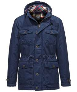 Stylisher Herren Parka Review Canvas 59,90€ bei engelhorn.de