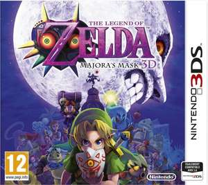 The Legend Of Zelda: Majora's Mask 3D für 41,18€ inkl. Versand @amazon.fr