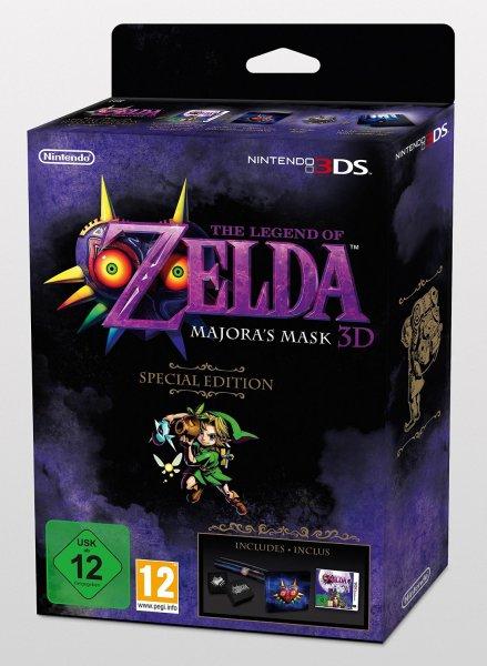 The Legend Of Zelda: Majora's Mask 3D Collector's Edition N3DS für 58,34€ inkl. Versand @amazon.fr noch erhältlich!