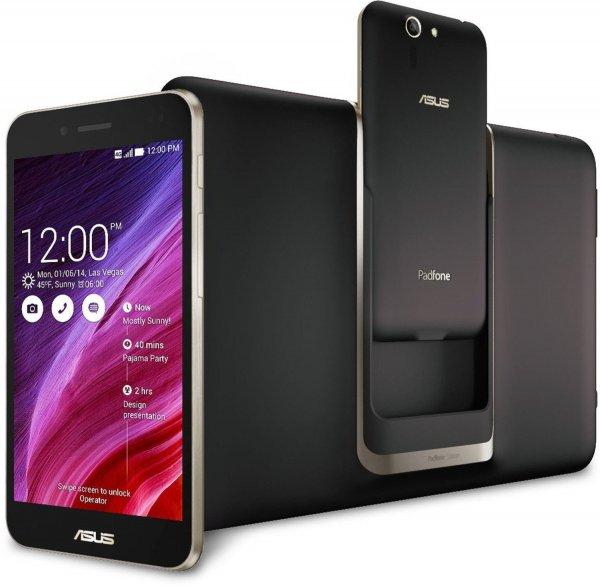 [+ 3 % Cashback] Asus PadFone S inkl. Tablet 3G Schwarz für 499,00€ inkl. Versand @Dealclub