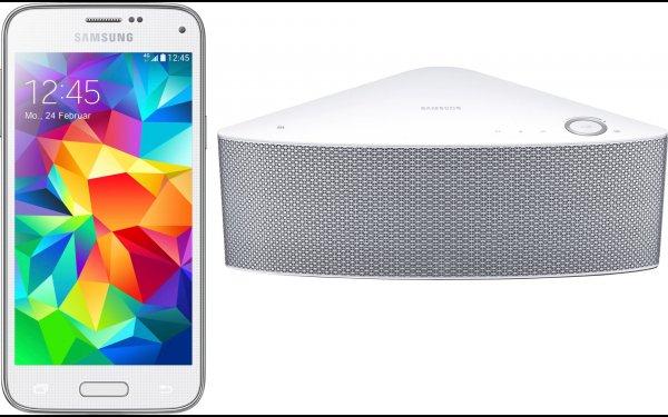 Samsung Galaxy S5 mini inkl. Samsung Wireless Lautsprecher WAM750 - 324,- € (Idealo 399,- €) otto.de Tagesdeal